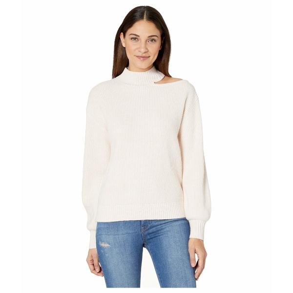 サンクチュアリー レディース ニット&セーター アウター Go All Cutout Sweater Light Pearl