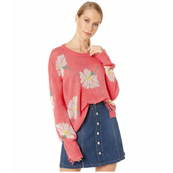 ウミーユアムーム レディース ニット&セーター アウター Seco Sweater Lovely Floral Knit