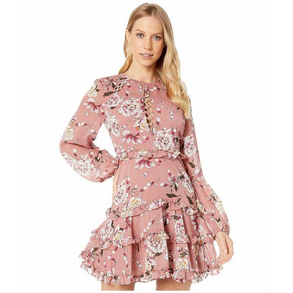 バードット レディース ワンピース トップス Hazel Floral Dress Mist Floral