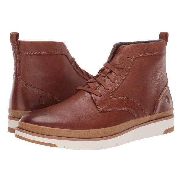 ハッシュパピー メンズ ブーツ&レインブーツ シューズ Caleb PT Boot Cognac Leather