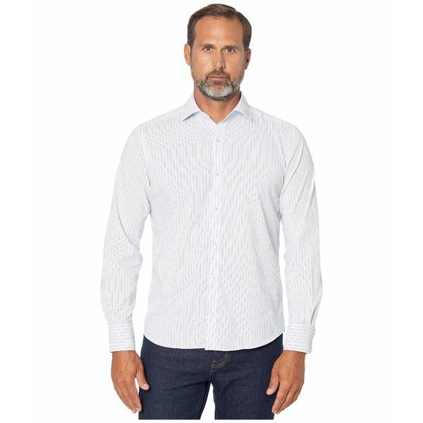 ブガッチ メンズ シャツ トップス Salvatore Performance Shaped Fit Shirt White