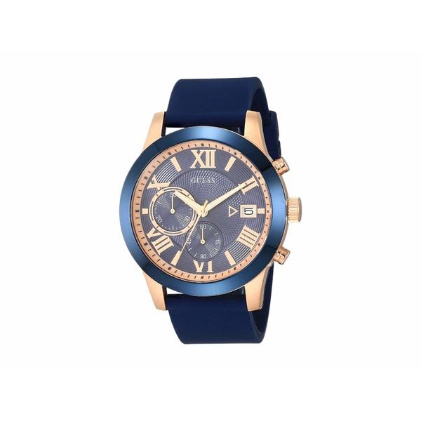 ゲス メンズ 腕時計 アクセサリー W1055G2 Rose Gold/Blue
