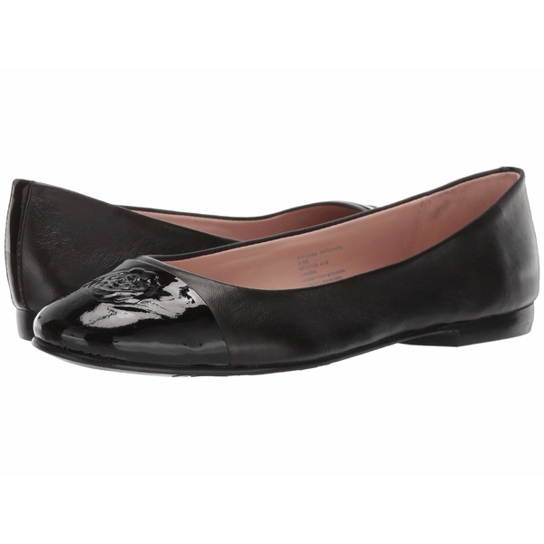 タリンローズ レディース サンダル シューズ Adrianna by Taryn Rose Collection Black Nappa/Black Patent