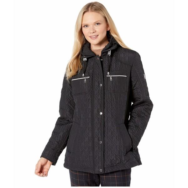 ヴィンスカムート レディース コート アウター Quilted Jacket V10706-ZA Black