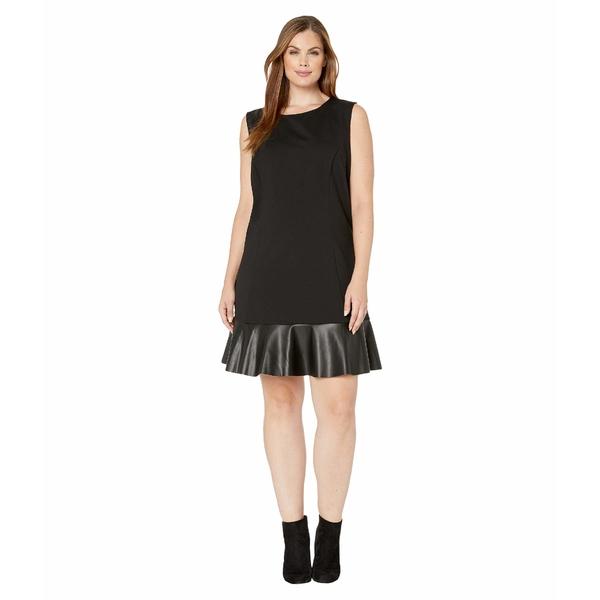 マイケルコース レディース ワンピース トップス Plus Size Combo Tier Dress Black