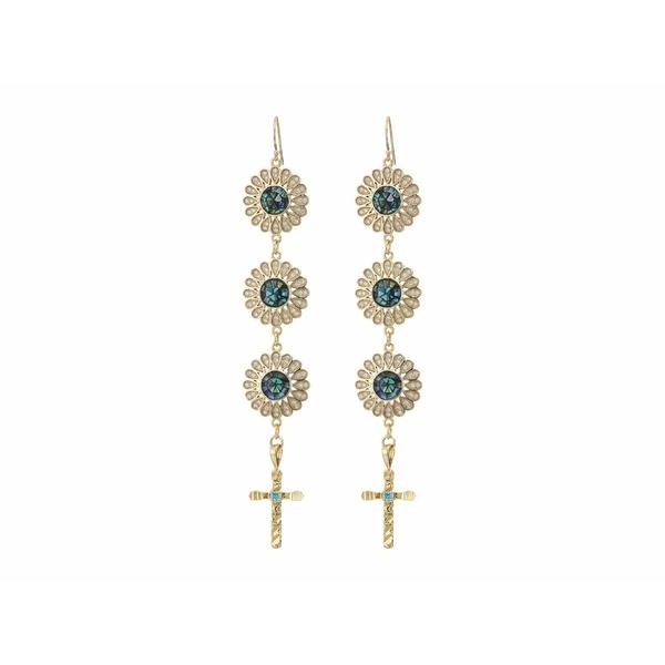 バネッサモーネイ レディース ピアス&イヤリング アクセサリー White Sands Earrings with Opal Gold