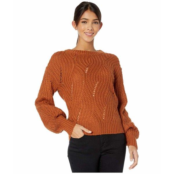 アストール レディース ニット&セーター アウター Dora Sweater Dark Apricot