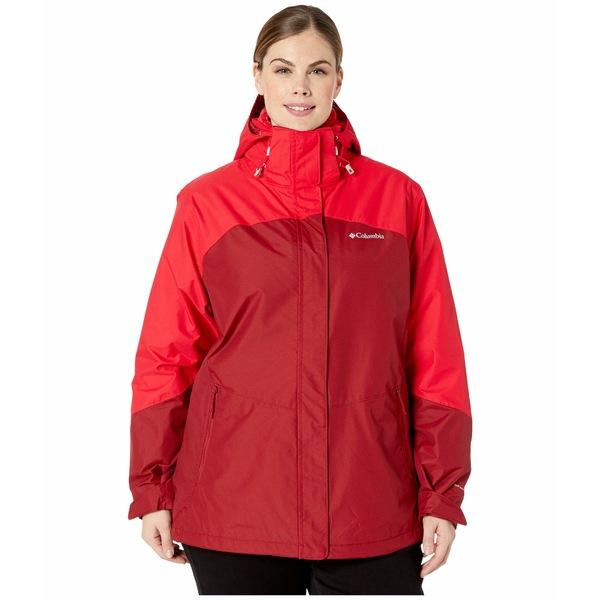コロンビア レディース コート アウター Plus Size Bugaboo II Fleece Interchange Jacket Beet/Red Lily/Red Lily