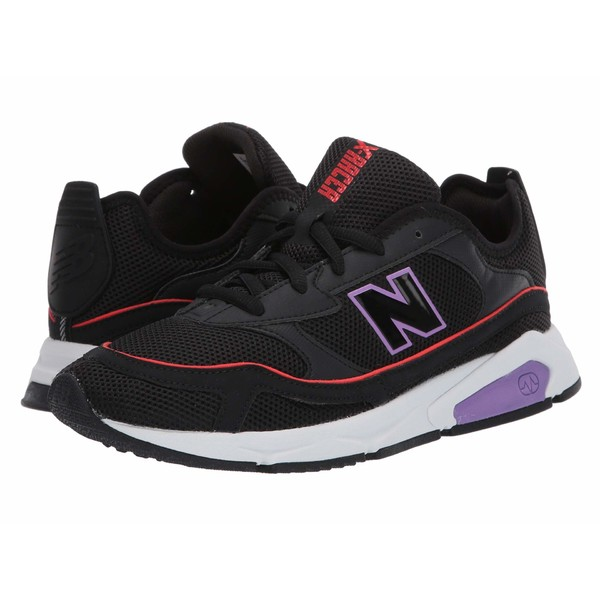ニューバランス レディース スニーカー シューズ X-Racer Black/Neo Violet