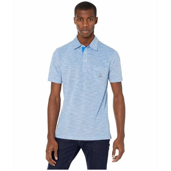 サイコバニー メンズ シャツ トップス Shanklin Sports Polo Electric Blue