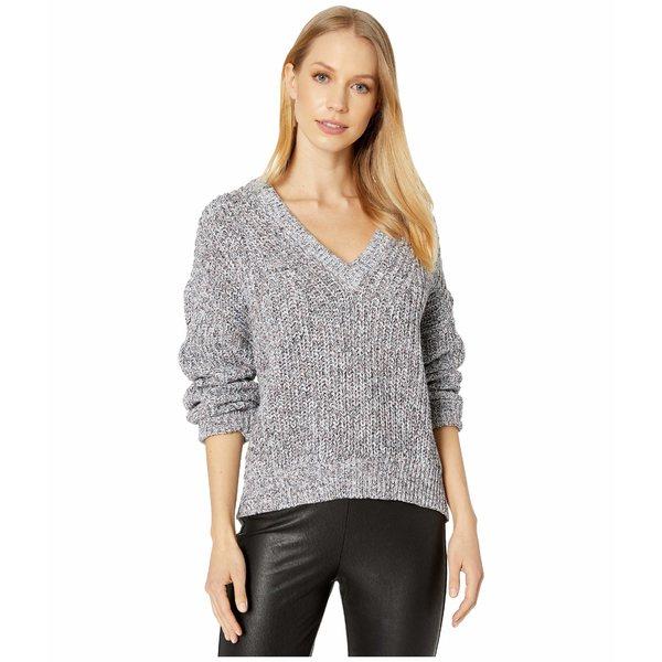 スプレンディット レディース ニット&セーター アウター Lucia Marled Pullover Sweater Light Blue/Pink Multi