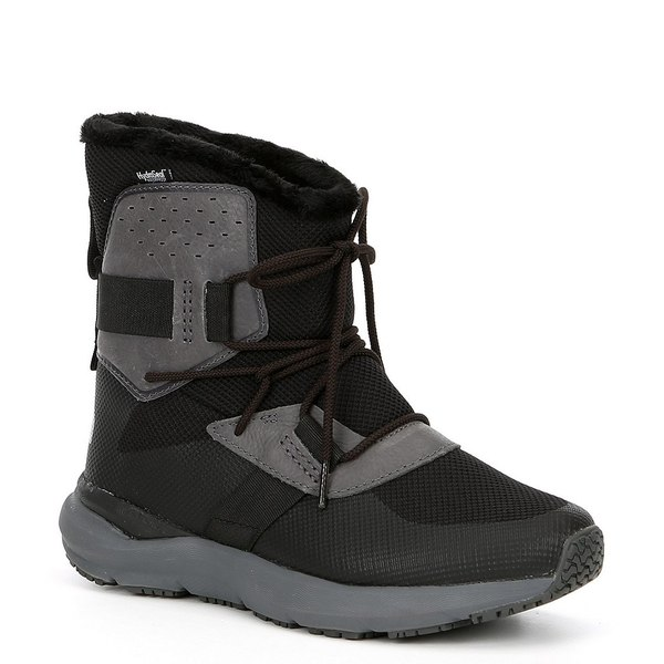 ノースフェイス レディース ブーツ&レインブーツ シューズ Women's UX Metro Atmos Mid Waterproof Winter Boots TNF Black/Zinc Grey