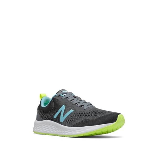 ニューバランス レディース シューズ 品質検査済 スニーカー GREY BLUE 全商品無料サイズ交換 Running Fresh Sneaker v3 Foam Arishi 公式通販