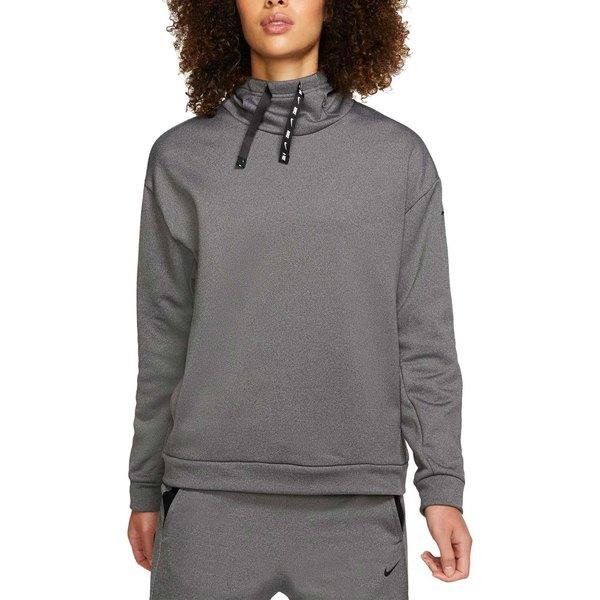 ナイキ レディース パーカー・スウェットシャツ アウター Nike One Women's Therma Fleece Training Hoodie BlackHtr