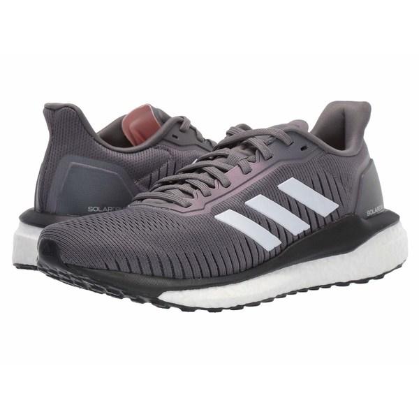 アディダス レディース スニーカー シューズ Solar Drive 19 Grey Four/Footwear White/Glow Pink