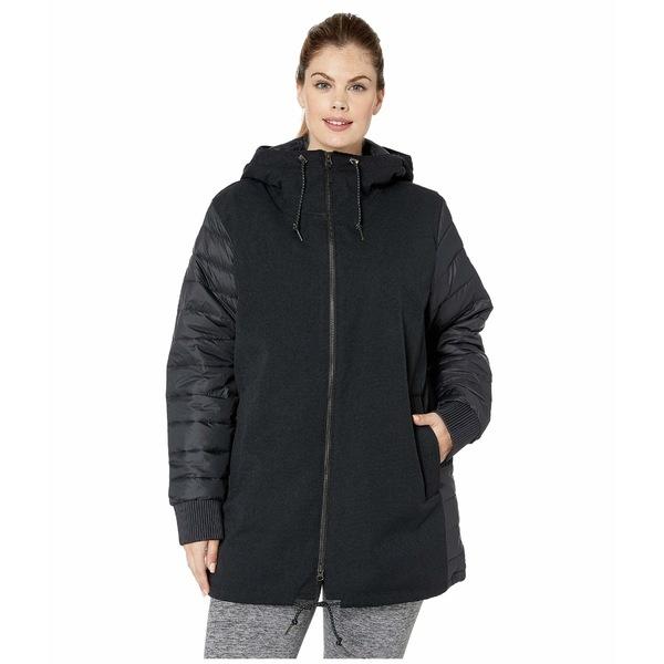 コロンビア レディース コート アウター Plus Size Boundary Bay Hybrid Jacket Black