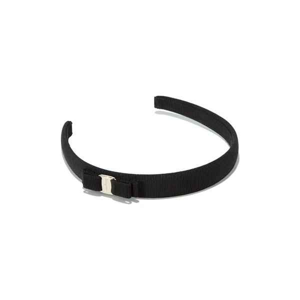 サルヴァトーレ フェラガモ レディース ヘアアクセサリー アクセサリー Vara Bow Headband Black/ Gold