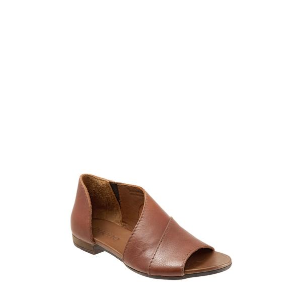 ブエノ レディース サンダル シューズ Tanner Sandal Tan Leather