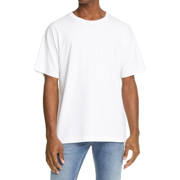 ジョン・エリオット メンズ シャツ トップス University Men's Oversize T-Shirt White