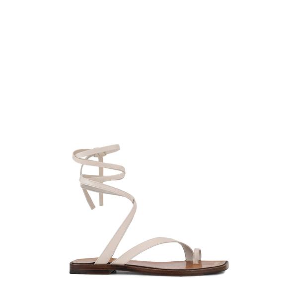 フレーム レディース サンダル シューズ Le Santa Barbara Lace-Up Sandal Off White