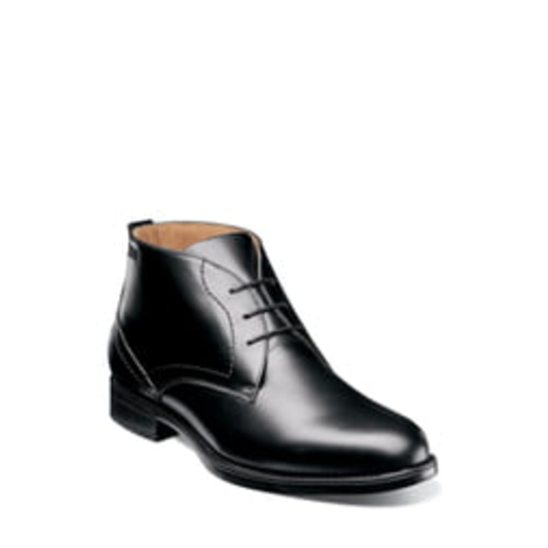 フローシャイム メンズ ブーツ&レインブーツ シューズ Midtown Waterproof Chukka Boot Black