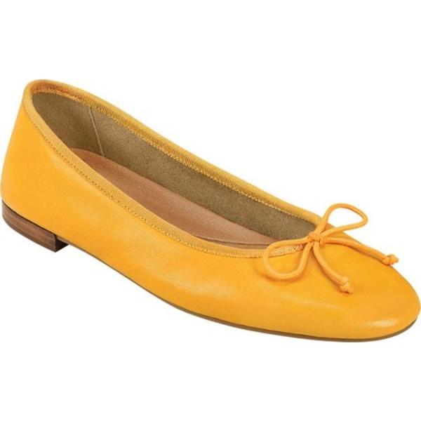 エアロソールズ レディース サンダル シューズ Platinum Homerun Ballet Flat Marigold Leather/Grosgrain