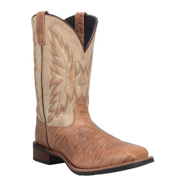 ラレド メンズ ブーツ&レインブーツ シューズ Waggoner Cowboy Work Boot 7851 Tan Leather