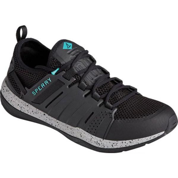 トップサイダー メンズ デッキシューズ シューズ H2O Mainstay Sneaker Black Mesh/TPU