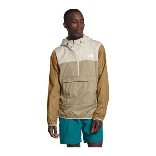 ノースフェイス メンズ ジャケット&ブルゾン アウター Fanorak Pullover Jacket Twill Beige/Vintage White/British Khaki