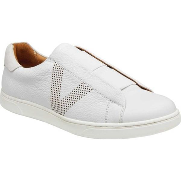 バイオニック メンズ スニーカー シューズ Hiro Sneaker White Leather