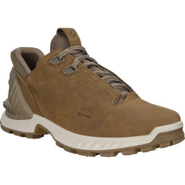 エコー メンズ ブーツ&レインブーツ シューズ Exohike Low GORE-TEX Hiking Shoe Cayote Yak Nubuck