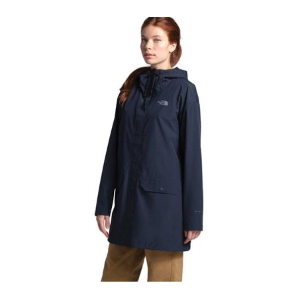 ノースフェイス レディース ジャケット&ブルゾン アウター Woodmont Rain Jacket Urban Navy