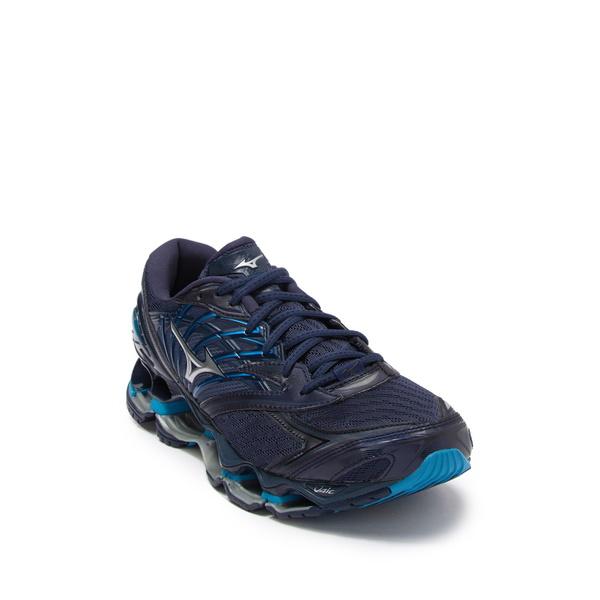 ミズノ 爆売り メンズ シューズ スニーカー BL WNG TEAL Wave SIL NEW Prophecy Shoe 8 Running 全商品無料サイズ交換