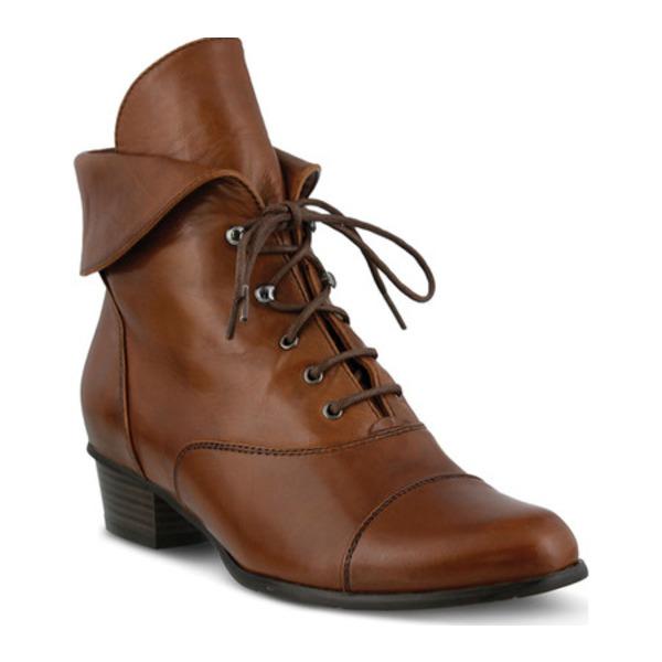 スプリングステップ レディース ブーツ&レインブーツ シューズ Galil Medium Brown Leather