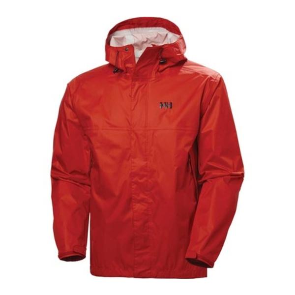 ヘリーハンセン メンズ ジャケット&ブルゾン アウター Loke Jacket Alert Red/Black Logo