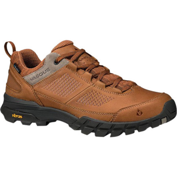 バスク メンズ ブーツ&レインブーツ シューズ Talus All-Terrain Low UltraDry Hiking Shoe Glazed Ginger/Brindle Waterproof Nubuck/Mesh