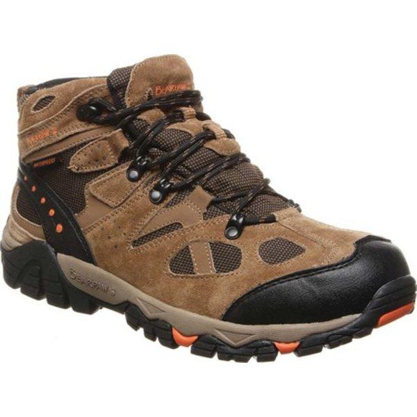 ベアパウ メンズ ブーツ&レインブーツ シューズ Brock Wide Hiking Boot Hickory II Suede/Mesh