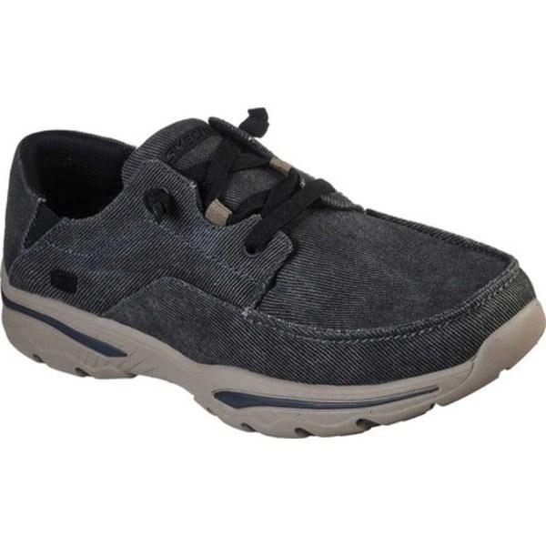 スケッチャーズ メンズ スニーカー シューズ Relaxed Fit Creston Selden Sneaker Black