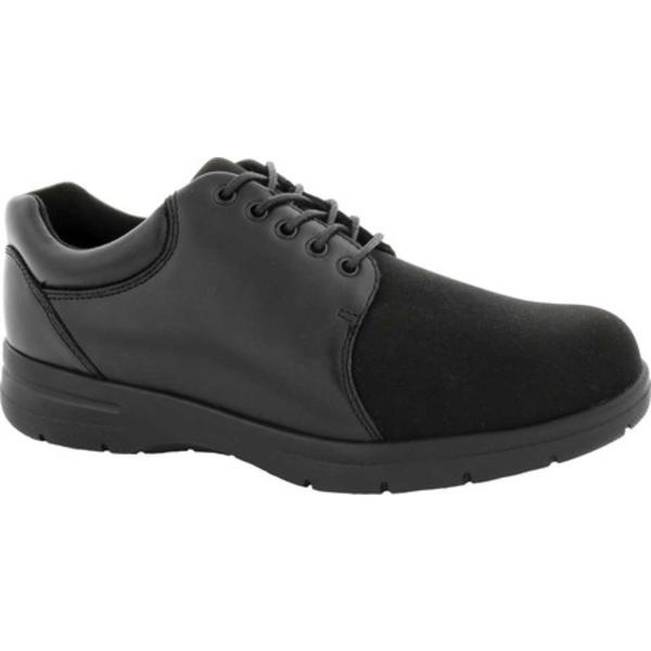 ドリュー メンズ ブーツ&レインブーツ シューズ Drifter Oxford Black Leather/Stretch Lycra