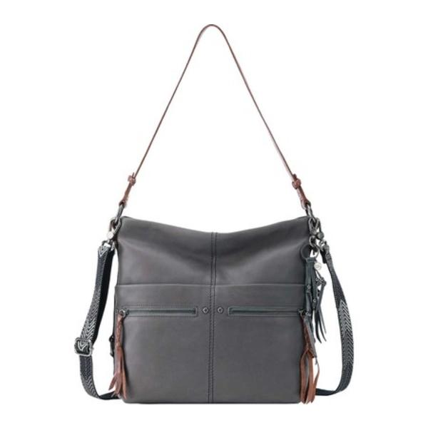 ザサック レディース ハンドバッグ バッグ Ashland Leather Bucket Bag Slate