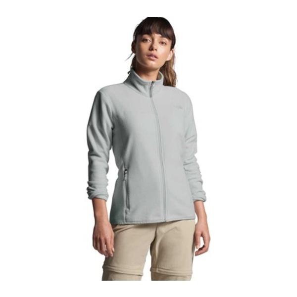 ノースフェイス レディース ジャケット&ブルゾン アウター TKA Glacier Full Zip Jacket Tin Grey