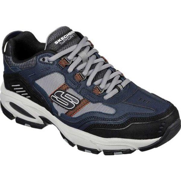 スケッチャーズ メンズ スニーカー シューズ Vigor 2.0 Nanobet Sneaker Navy/Gray