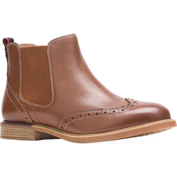 ハッシュパピー レディース ブーツ&レインブーツ シューズ Bailey Chelsea Boot Dachshund Full Grain Leather