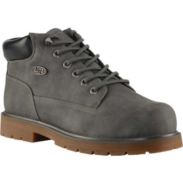 ラグズ メンズ ブーツ&レインブーツ シューズ Drifter LX Boot Charcoal/Gum Synthetic Nubuck