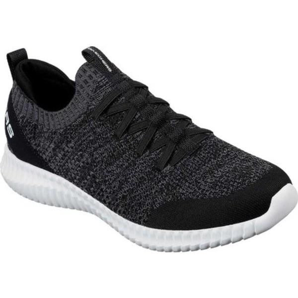スケッチャーズ メンズ スニーカー シューズ Elite Flex Karnell Sneaker Black/White