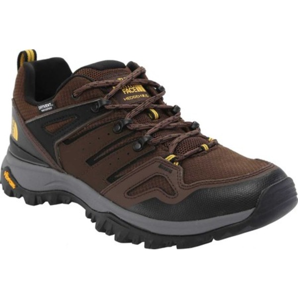 ノースフェイス メンズ ブーツ&レインブーツ シューズ Hedgehog Fastpack II Waterproof Hiking Shoe Chocolate Brown/TNF Black