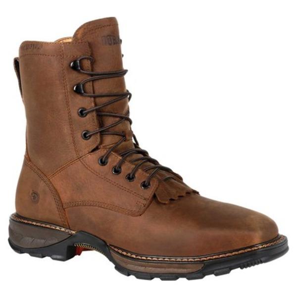 ヂュランゴ メンズ ブーツ&レインブーツ シューズ DDB0267 Maverick XP Steel Toe WP Lacer Work Boot Russet Full Grain Leather