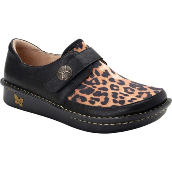 アレグリア レディース オックスフォード シューズ Brenna Monkstrap Leopard Leather