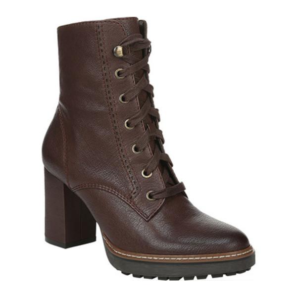 ナチュライザー レディース ブーツ&レインブーツ シューズ Callie Ankle Boot Chocolate Tumbled Leather