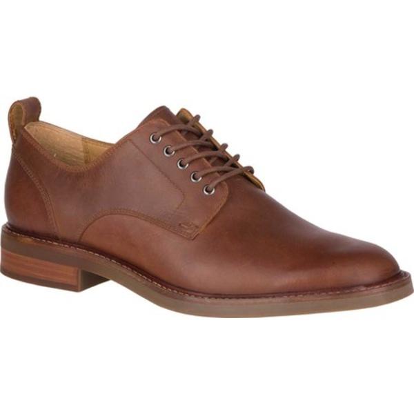 トップサイダー メンズ ドレスシューズ シューズ Gold Cup Elite Plain Toe Oxford Brown Leather